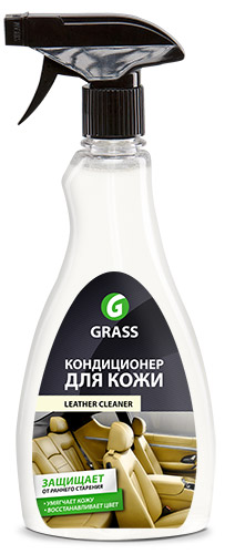 Кондиционер кожи GRASS Leather Cleaner, 0,5 л (триггер)